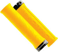 RaceFace Half Nelson Grips - Yellow Lock-On
