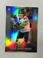 DAVID MONTGOMERY 2019 Chronicles Titanium SILVER HOLO SSP RC 33/73! #6! BEARS!