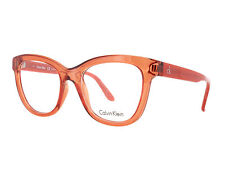 NEW Calvin Kein CK5909 810 51mm Orange Optical Eyeglasses Frames