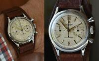 1956 Universal Geneve UNI-COMPAX Chronograph Men Wristwatch Cal. 781 Serviced