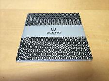 Brochure - CLERC Icon8 Instructions Manual - Libro de instrucciones - FR ENG JAP