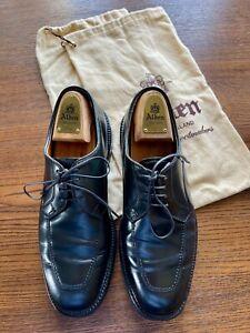 """Alden Schuhe, Pferdeleder Cordovan Shell 8,5 C/E Modell 7505 """"Apron Toe Blucher"""""""