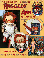 The World of Raggedy Ann Collectibles Doll, banks, books, games NEW