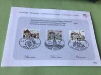 Switzerland Special George Simenon  Stamps Card Ref 52335