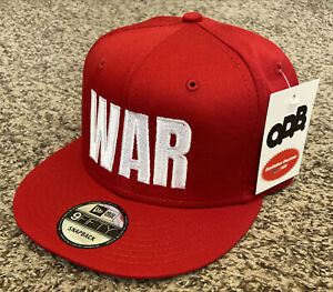 "MARVELOUS MARVIN HAGLER ""WAR"" Hat NEW ERA 9FIFTY Snapback NWT! #37/100 vs Hearns"