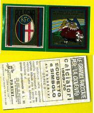 Calciatori Panini 1969-70 Scudetto e Mascotte Bologna!! Nuova con velina!!
