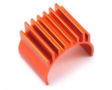 HLNA0176 Helion RC Orange Aluminium Motor Heatsink, OR Fits: Animus 1:18 New
