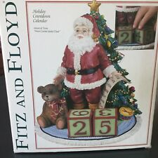 Fitz and Floyd Holiday Countdown Calendar
