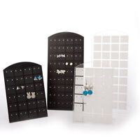 48/72 Holes Earring Jewelry Show Plastic Display Rack Stand Organizer Holder AU