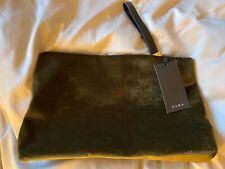 Beautiful Zara Green Clutch Bag BNWT