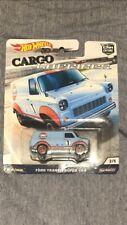 2018 Hot Wheels Car Culture Cargo Carriers Gulf Oil 1971 Ford TRANSIT Super Van