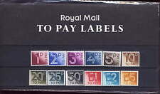 GB 1982 POSTAGE DUES 1p - £5 PRESENTATION PACK No.135