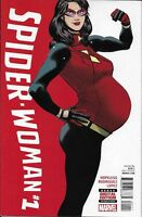 Spider-Woman Comic 1 Cover A First Print 2016 Dennis Hopeless Rodriguez Lopez
