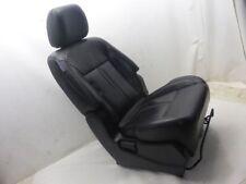 Renault Koleos HY 2.0 dCi Sitz vorne Rechts Beifahrer Schwarz Leder Sitzheizung