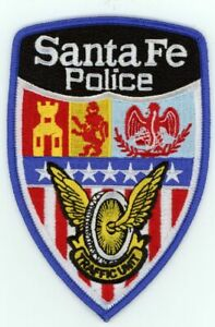NEW MEXICO NM SANTA FE POLICE TRAFFIC NEW PATCH SHERIFF