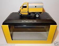 RARE SCOOTER TRIPORTEUR APE PIAGGIO ATM2T 1996 POSTES POSTE PTT 1/43 IN LUXE BOX