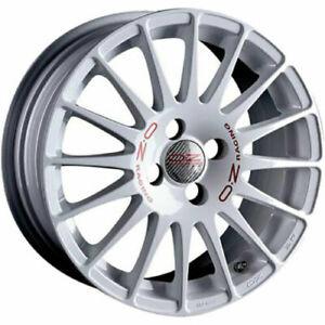 SET 4 Cerchi in lega OZ Racing SUPERTURISMO WRC 6,5JX15 ET37 4X100