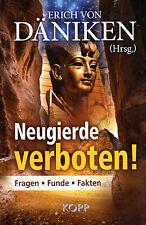 NEUGIERDE VERBOTEN - Erich von Däniken BUCH - NEU