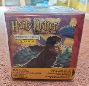 Panini Harry Potter And The Chamber of Secrets Sealed Box 50 Packets Issued 2003