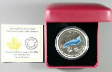 2014 Canadian The Great Lakes: Lake Ontario Silver $20