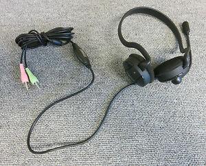 Sweex HM300 80211B Neckband Over-The-Ear PC Headset Black
