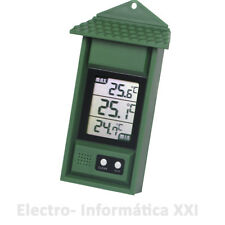 Thermometer Maximum minimum and with Memory for Interior External -20° to 50º