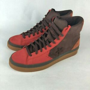 Converse Pro Leather 2000s Pack Bison Mens US 10.5 Red Brown Shoes 167269C
