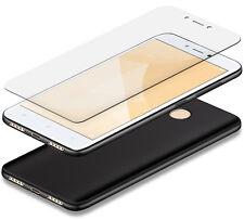 TPU Slim Case Für Xiaomi Redmi 4x & PANZERGLAS Cover Hülle Tasche Silikon Schutz