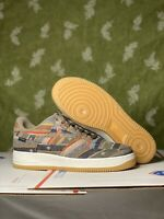 Size 10.5 - Nike By You ID Air Force 1 Brown Pendleton Bottom  CT7875 994 Men