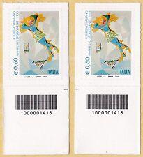 ITALIA Manifesto Enit Anno 2011 Codice a Barre DX-SX