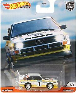 '84 Audi Sport Quattro Rally Hot Wheels Thrill Climbers Car Culture 2020 GJP94