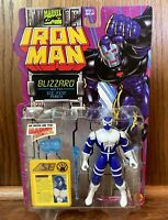Blizzard Vintage Iron Man Action Figure New 1995 Toybiz 90s Cartoon Marvel Comic