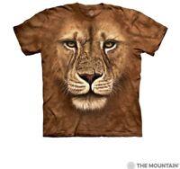 The Mountain 100% Cotton Kids T-Shirt Tee Lion Warrior S-M-L-XL NWT