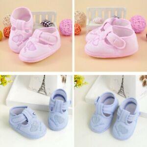 Toddler Newborn Baby Girl Crib Shoes Pram Soft Sole Prewalker Children Anti-slip