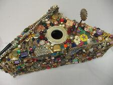 Vintage Arts & Crafts Folk Art Memory Bird House