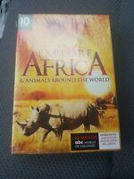 BRAND NEW Explore Africa & Animals Around the World 3 DVD Collection 10 Episodes