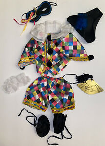 """Vanderbear Wear Fuzzy Bal Masque Outfit (also Fits 18"""" Dolls)"""