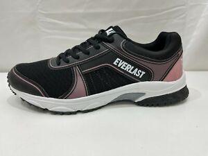 NEW Everlast Tribeca Training Black Rose Active Sneaker Ladies Size 9 RRP $30