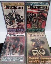 Havok & Wolverine Meltdown #1-4 Complete Series Set Comic Book Lot NM Simonson