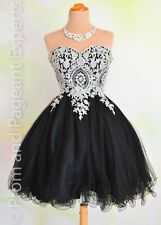 NWT SHORT HOMECOMING PROM Cocktail Evening Party Ball Gown Dress S 4/6 USA