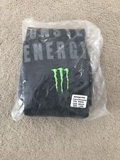 Monster Energy Straight Up Hoody Pullover Sweatshirt Brand NEW! LARGE