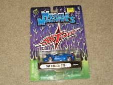 Muscle Machines SS Tuner 2001 01 Toyota Celica GTS Blue 1:64 MOC 2002