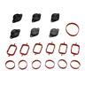6 x 22mm Swirl Blanks Flaps repair delete kit with intake gaskets for BMW engine