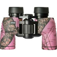 Crossover 8x30 Waterproof Mossy Oak Winter Binoculars Pink