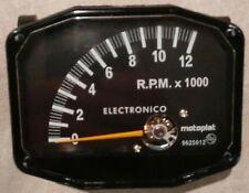 DREHZAHLMESSER MOTOPLAT 12000 RPM 4-TAKT KROBER STYLE NEEDS MOTORBIKE BATTERY