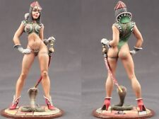 tin toy soldiers ELITE painted  Girl 80mm Cobra Warrior