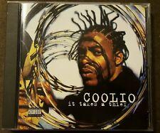 COOLIO It Takes a Thief *WC Madd Circle J-Ro Billy Boy LeSaun West Coast rap