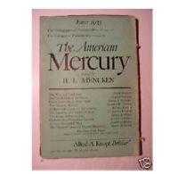 AMERICAN MERCURY Magazine June 1933 H. E. Buchholz +++