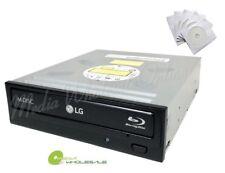 LG Internal Sata BluRay BDXL BDR/DVD/CD Burner ReWriter Drive + 5 BluRay 25Gb