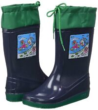 Kids Wellies Boots Boys Girls Waterproof Snow Wellington Shoes Size UK 1 EU 33